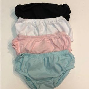 Carters 12 month bloomers with ruffles NWOT
